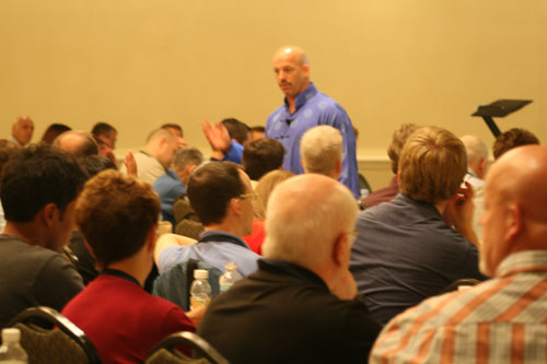 Matthew Furey teaching Zero Resistance Living®.