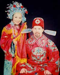 Matt Furey and wife, Zhannie, in China